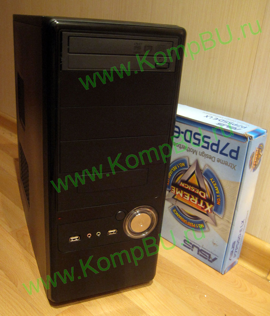 четырёхядерный компьютер Б/У Intel Core i5-650 (4x3.2GHz) /8192Mb DDR3 /250Gb SATA III /512Mb GeForce 9600 GT /DVD-RW /sound /LAN /eSATA /ATX 450W