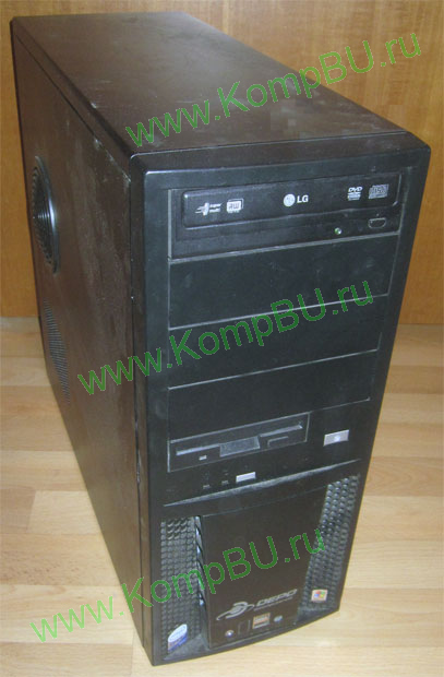 двухядерный компьютер Б/У Core 2 DUO E6300 (2x1.86GHz) /1024Mb /80Gb /video /DVD-RW /sound /LAN /ATX 400W
