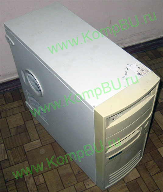 компьютер Б/У Intel Pentium-4 2.8GHz /1024Mb DDR /80Gb /video /DVDROM /sound /LAN /ATX 300W