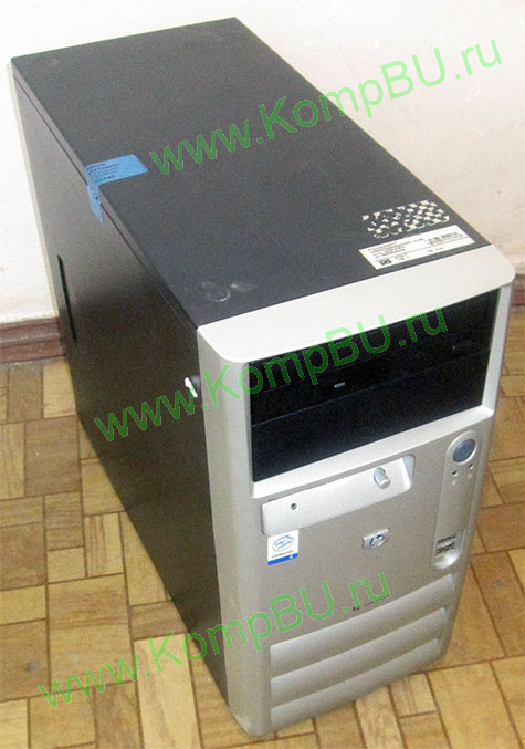 компьютер Б/У HP Compaq dx2000 MT Intel Celeron D 320 2.4GHz /512Mb DDR /40Gb /video /CDROM /sound /LAN /ATX 250W