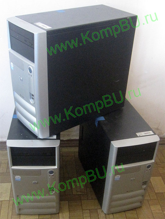 компьютер Б/У HP Compaq dx2000 MT Intel Celeron D 345 3.06GHz /512Mb DDR /80Gb /video /CDROM /sound /LAN /ATX 250W