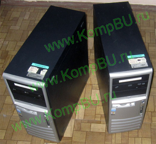 двухядерный компьютер Б/У HP Compaq dc7700 Intel Pentium D 945 (2x3.4GHz) /2048Mb DDR2 /160Gb /video /DVDRW /sound /LAN /ATX 250W