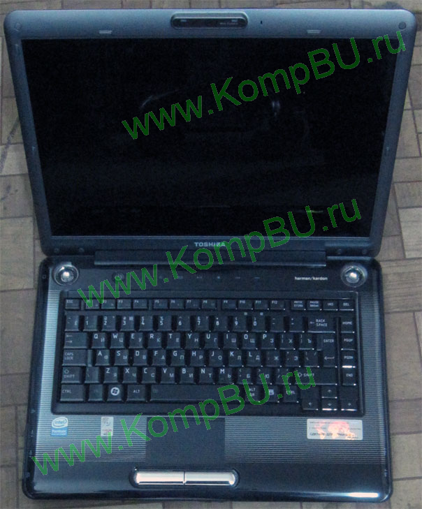 "НЕДОУКОМПЛЕКТОВАННЫЙ двухядерный ноутбук Toshiba SATELLITE A300-1G2 (Intel Pentium Dual Core T2390 2x1.86Ghz /1024Mb DDR2 /no HDD /DVD-RW /CardReader /sound /LAN /Wi-Fi /IEEE1394 (Firewire) /WebCamera /15.4"" 1280x800)"