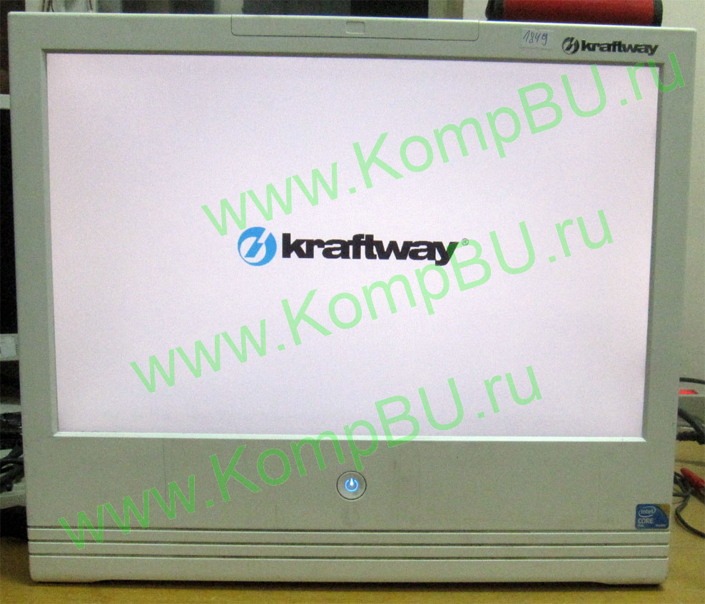 "двуххядерный Б/У моноблок Kraftway KM21 Intel Core 2 Duo E7500 (2x2.93GHz) /2048Mb DDR2 /160Gb /video /sound /LAN 1G /19"" TFT (1440x900)"