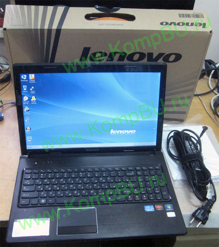 "четырехядерный ноутбук Б/У Lenovo G570 (Intel Core-i5 2410M 4x2300MHz /3072Mb DDR3 /640Gb /DVDRW /sound /LAN /WiFi /BlueTooth /WebCamera /15.6"" 1366x768)"