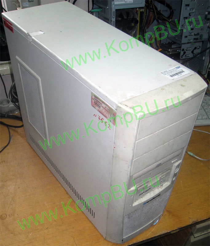 компьютер Б/У Intel Celeron 2.53GHz s478 /256Mb DDR1 /40Gb /video /no drive! /sound /LAN /ATX 300W