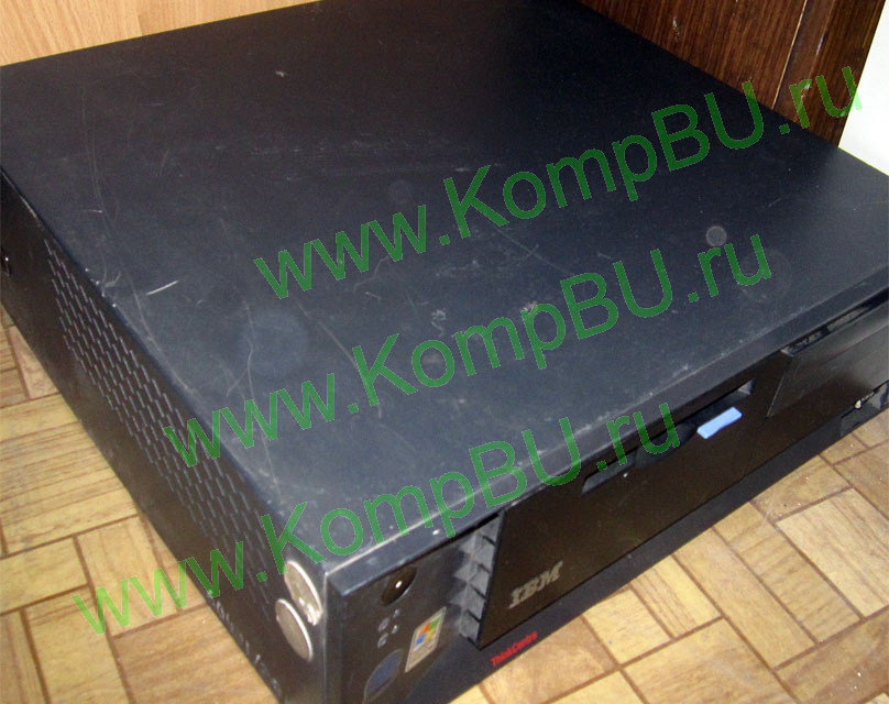 компьютер Б/У IBM ThinkCentre MT-M 8191-76G (Intel Celeron 2.4GHz s478 /256Mb DDR /80Gb /video /CDROM /sound /LAN /ATX 230W desktop)