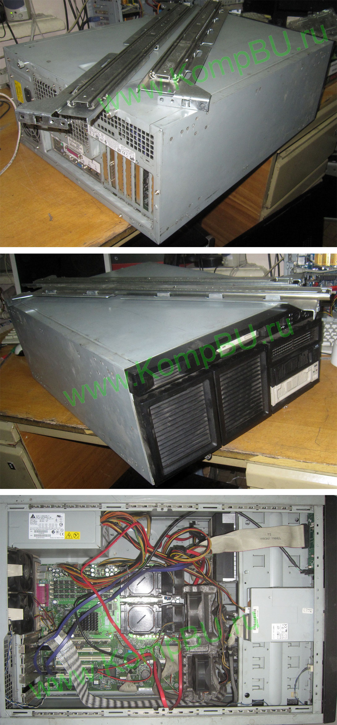 Фото: Б/У сервер 2xXEON 2.4GHz s604 /4096Mb DDR ECC /4x36Gb SCSI Ultra320 10000 rpm /no optic drive /LAN 1G + LAN 100mbit /450W ATX 5U