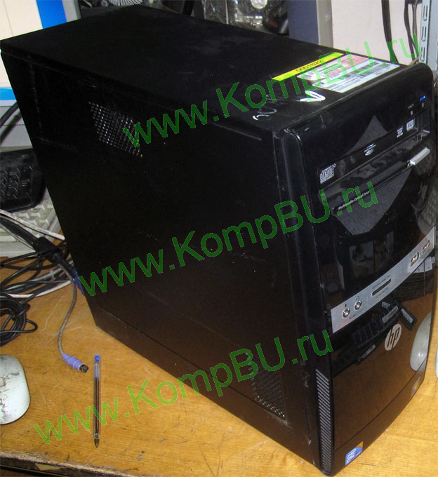 двухядерный компьютер Б/У HP Compaq 500B MT (Intel Core 2 Duo E7500 (2x2.93GHz) s775 /2048Mb DDR3 /320Gb SATA /video /DVDRW /CardReader /sound /LAN /ATX 300W)