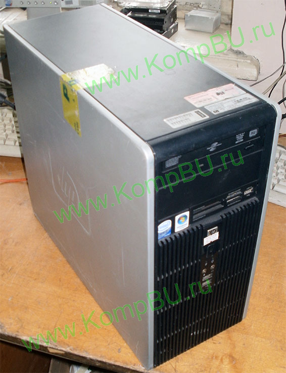 двухядерный компьютер Б/У HP Compaq 5700 (Intel Core 2 Duo E6400 (2x2.13GHz) /2048Mb DDR2 /160Gb SATA /video /DVDROM /CardReader /sound /LAN /ATX 300W)