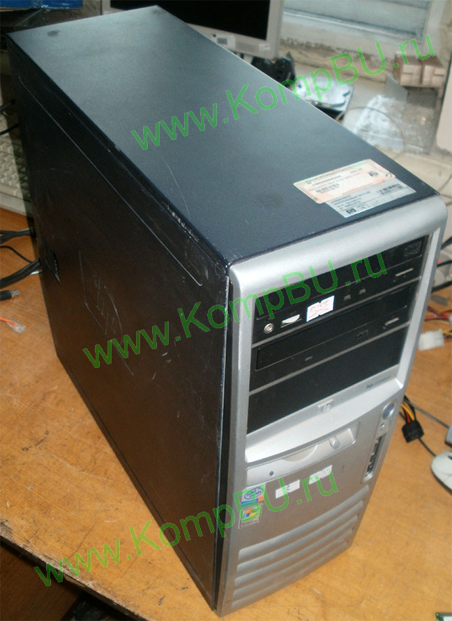 компьютер Б/У HP Compaq d530C (Intel Pentium-4 2.8GHz s478 /1024Mb DDR1 /40Gb IDE /video /CDROM /sound /LAN 1G /ATX 240W)