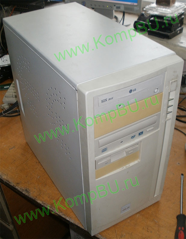 компьютер Б/У Intel Celeron 2.0GHz s478 /256Mb DDR1 /40Gb IDE /video /CDROM + DVDRW /sound /LAN /ATX 250W