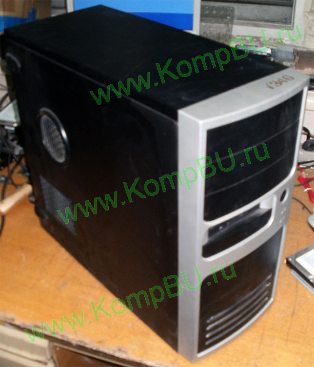 Фото: компьютер Б/У AMD Athlon 64 3500+ 2.2GHz s939 /1024Mb DDR1 /80Gb SATA /128Mb GeForce 6200TC (DVI, tv-out) /no drive! /sound /LAN /ATX 350W Inwin