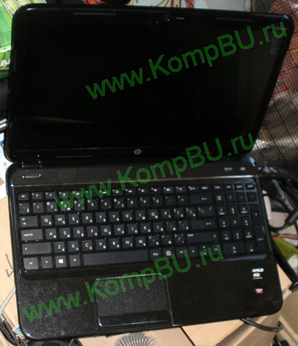 "четырехядерный ноутбук Б/У HP Pavilion g6-2302sr (AMD A10-4600M (2x2.3Ghz) /4096Mb DDR3 /500Gb SATA /1024Mb AMD Radeon HD7670 M /DVDRW DL /CardReader /sound /LAN 1G /Wi-Fi /BlueTooth /WebCamera /eSATA /15.6"" TFT 1366x768)"