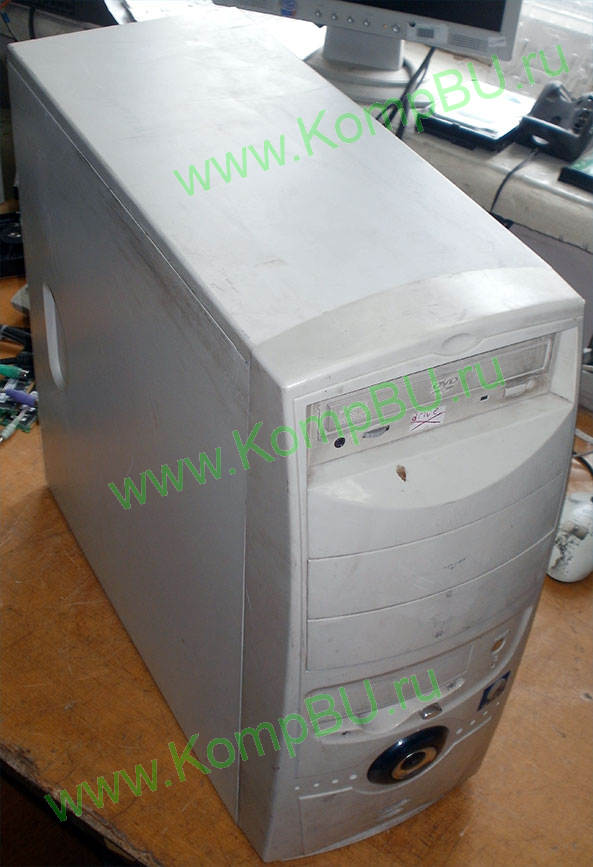 компьютер Б/У Intel Celeron 1.7GHz s478 /256Mb DDR1 /30Gb IDE /video /no drive! /sound /LAN /ATX 350W